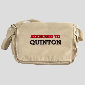 Addicted to Quinton Messenger Bag