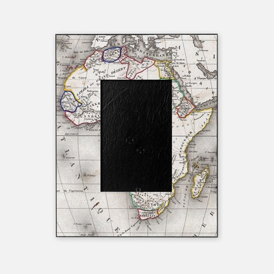 Unique African map Picture Frame