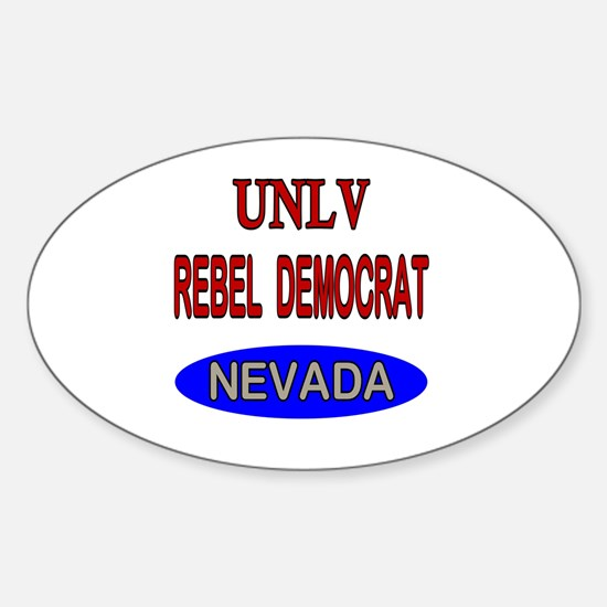 Cute Democrat store Sticker (Oval)