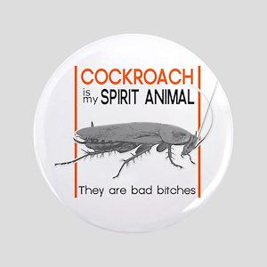 Cockroach Spirit Animal Button
