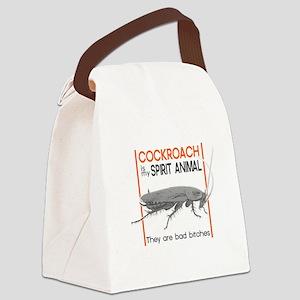 Cockroach Spirit Animal Canvas Lunch Bag
