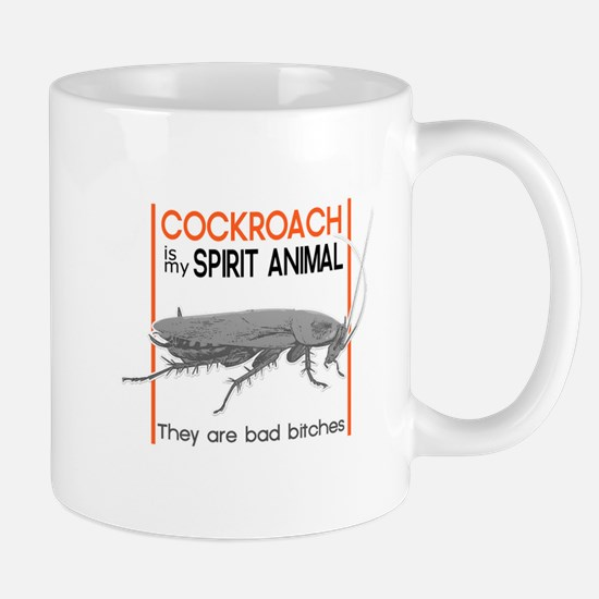 Cockroach Spirit Animal Mugs