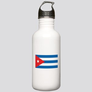 Cuban Flag Stainless Water Bottle 1.0L