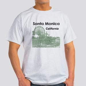Santa Monica White T-Shirt