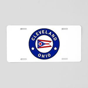 Cleveland Ohio Aluminum License Plate