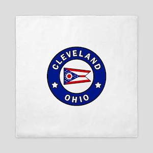 Cleveland Ohio Queen Duvet