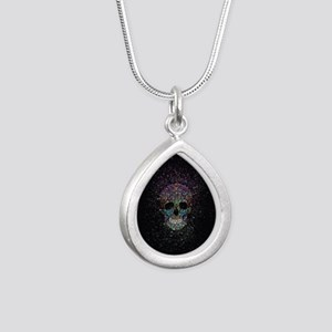 Glitter ColorSkull Necklaces