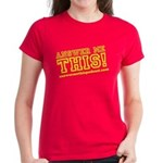 Answer Me This! ladies' t-shirt
