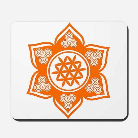 Triple Goddess Lotus Love 04 Mousepad