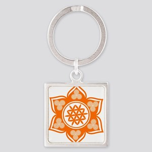 Triple Goddess Lotus Love 04 Keychains