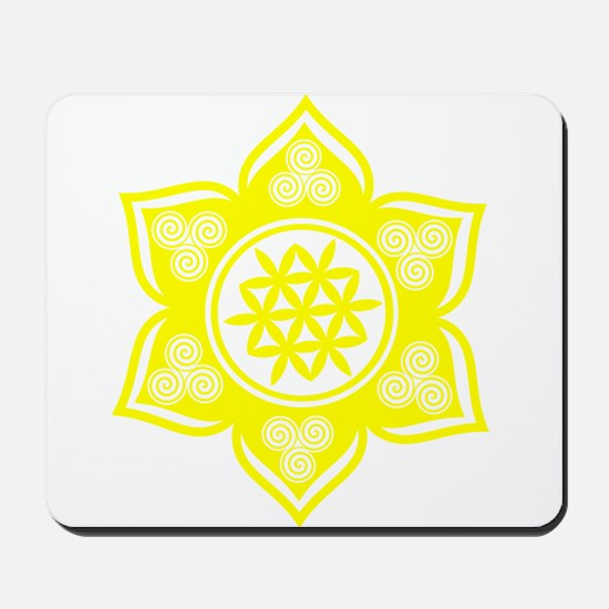 Triple Goddess Lotus Love 05 Mousepad