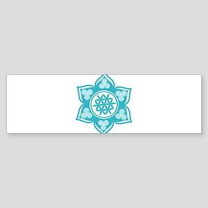 Triple Goddess Lotus Love 10 Bumper Sticker
