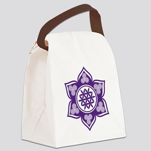 Triple Goddess Lotus Love 08 Canvas Lunch Bag