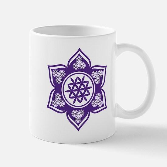 Triple Goddess Lotus Love 08 Mugs