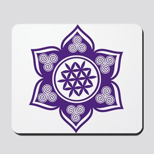 Triple Goddess Lotus Love 08 Mousepad