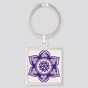 Triple Goddess Lotus Love 08 Keychains