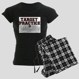 TARGET PRACTICE Women's Dark Pajamas