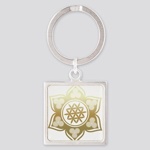 Triple Goddess Lotus Love 02 Keychains