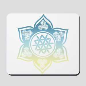 Triple Goddess Lotus Love 12 Mousepad