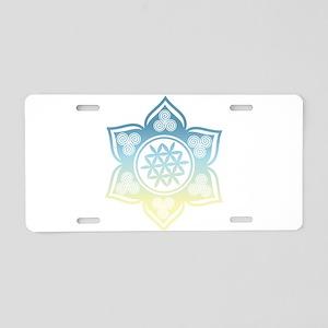 Triple Goddess Lotus Love 12 Aluminum License Plat