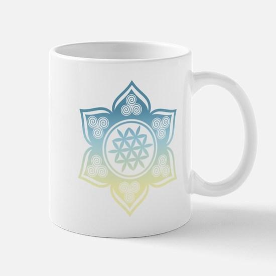 Triple Goddess Lotus Love 12 Mugs