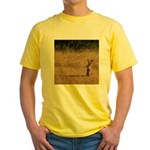 Sitting Jackrabbit Yellow T-Shirt