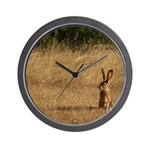 Sitting Jackrabbit Wall Clock
