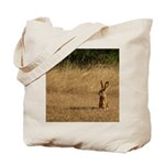 Sitting Jackrabbit Tote Bag