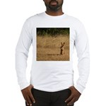 Sitting Jackrabbit Long Sleeve T-Shirt