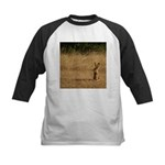 Sitting Jackrabbit Kids Baseball Jersey