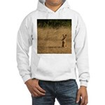 Sitting Jackrabbit Hooded Sweatshirt