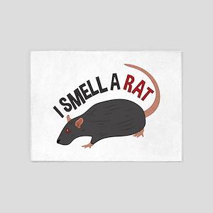 I Smell Rat 5'x7'Area Rug