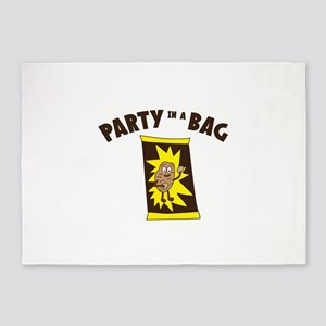 Party In Bag 5'x7'Area Rug
