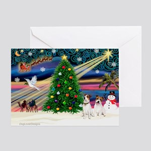 Xmas Magic & JRT pair Greeting Card