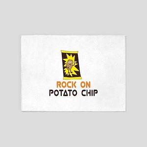Potato Chip 5'x7'Area Rug