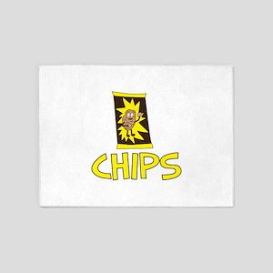 Chips Bag 5'x7'Area Rug
