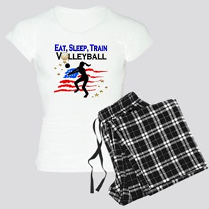 VOLLEYBALL STAR Women's Light Pajamas