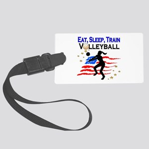 VOLLEYBALL STAR Large Luggage Tag
