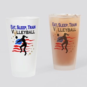 VOLLEYBALL STAR Drinking Glass