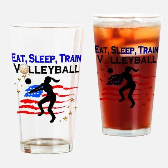 VOLLEYBALL STAR Drinking Glass