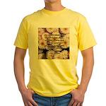 Walt Whitman Nature Quote Yellow T-Shirt