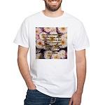 Walt Whitman Nature Quote White T-Shirt