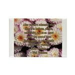Walt Whitman Nature Quote Rectangle Magnet (10 pac