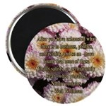 Walt Whitman Nature Quote Magnet
