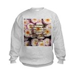 Walt Whitman Nature Quote Kids Sweatshirt