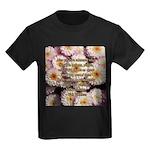 Walt Whitman Nature Quote Kids Dark T-Shirt