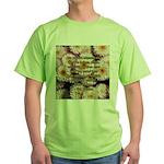 Walt Whitman Nature Quote Green T-Shirt