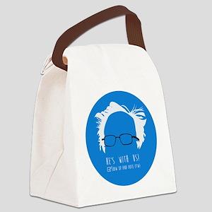 Bernie Canvas Lunch Bag