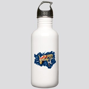 High Jumping Athlete Stainless Water Bottle 1.0L