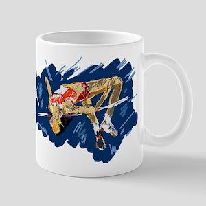 High Jumping Athlete Mugs